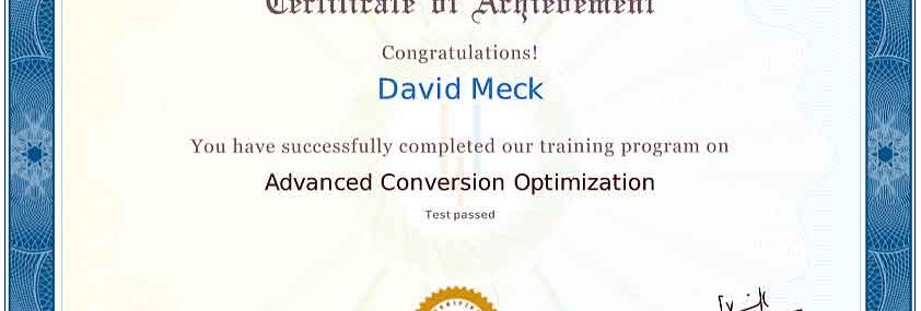 David Meck Advanced CRO