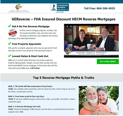 Ge Reverse Mortgages